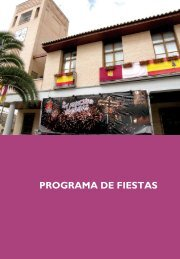 PROGRAMA DE FIESTAS - Ayuntamiento de Bargas