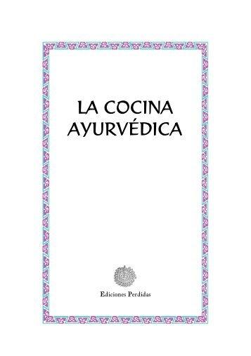 LA COCINA AYURVÉDICA - Libros de arena