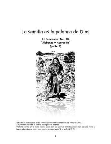 Alabanza y Adoracion.pdf - IGLESIA DE CRISTO - Ministerios ...