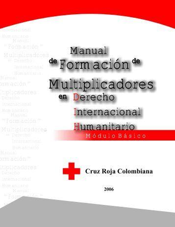 Formación Multiplicadores - Cruz Roja Colombiana