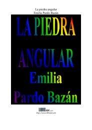 La piedra angular Emilia Pardo Bazán - GutenScape.com