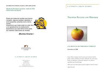 libro recetas - educastur.princast