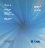 El Grupo KAHL - Amandus Kahl Group