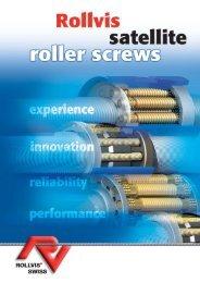 xp. Plaq-RollvisAN-2007 - ROLLVIS SWISS, Vis à rouleaux satellites
