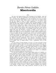 Perez Galdos, Benito - Misericordia - iberoamericanaliteratura