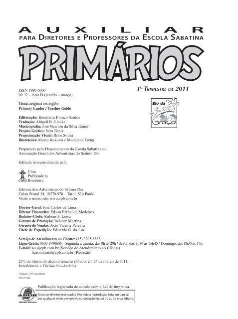 Primarios Casa Publicadora Brasileira