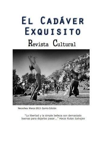 El Cadáver Exquisito - 5º Edición - Marzo 2013