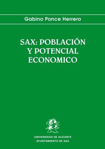 Gabino Ponce Herrero - Publicaciones Universidad de Alicante