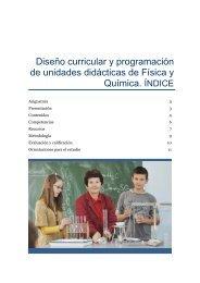 Diseño curricular y programación de unidades didácticas de ... - Unir