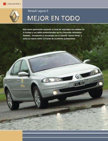Renault Laguna II - CESVI Argentina