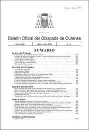 boletin marzo abril - Diocese de Ourense