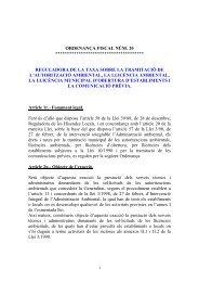 ORDENANÇA FISCAL NÚM.20