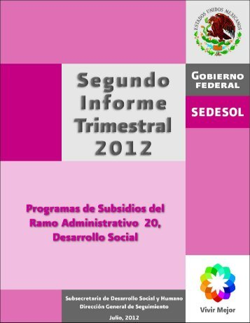 Segundo Informe Trimestral 2012