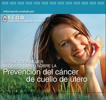 Prevención del cáncer de cuello de útero - Sego