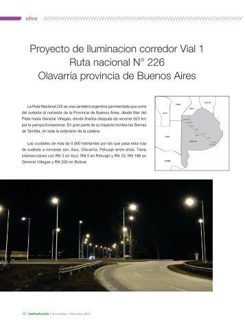Proyecto de Iluminacion corredor Vial 1 Ruta nacional N ... - Strand