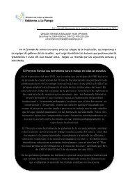 Jornada Institucional - Educación Primaria