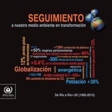 SEGUIMIENTO a nuestro medio ambiente en transformación - UNEP