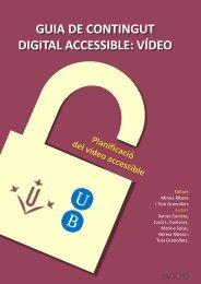 català - El video sense barreres - Universitat de Lleida
