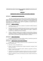 """estatutos sociales de """"san isidro"""", sociedad cooperativa de castilla ..."""
