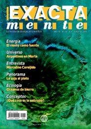 EXACTAmente - Biblioteca Digital FCEN-UBA - Universidad de ...