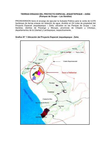 tierras eriazas del proyecto especial jequetepeque ... - Proinversión