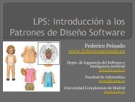 Federico Peinado www.federicopeinado.es - Facultad de ...