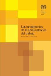 Los fundamentos de la administración - International Labour ...
