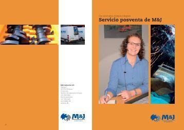 Catálogo de servicios M&J - Metso