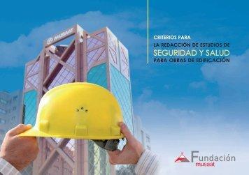 SEGURIDAD Y SALUD - Fundación Musaat