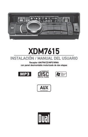 XDM7615 - Dual Electronics