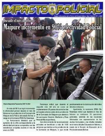 boletin marzo 2008 - Gobernación del Estado Bolívar