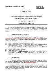 Campeonato de España Élite Masculino y femenino - Federación ...