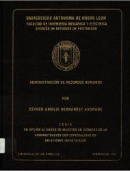 É - cdigital - Universidad Autónoma de Nuevo León