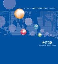 memoria actividades 2006-2007 - Instituto de Tecnología Cerámica
