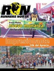 nuevo monarca - Atletismo en México