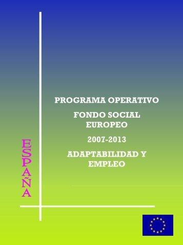 Fondo Social Europeo 2007-2013 - Vicerrectorado de Investigación ...