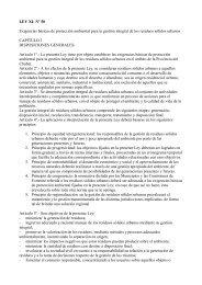 LEY XI- Nº 50 Exigencias básicas de protección ... - Organismos