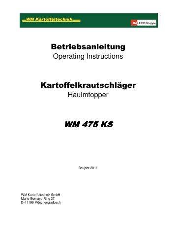 WM 475 KS - ROPA Fahrzeug