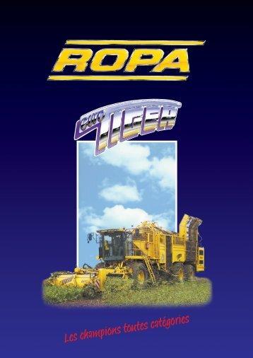 Les champions toutes catégories - ROPA Fahrzeug