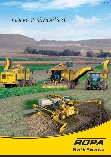 Harvest simplified. - ROPA Fahrzeug