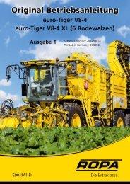 Bedienungsanleitung euro-Tiger V8-4 - Ausgabe ... - ROPA Fahrzeug
