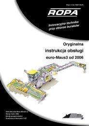 instrukcja obsługi - ROPA Fahrzeug