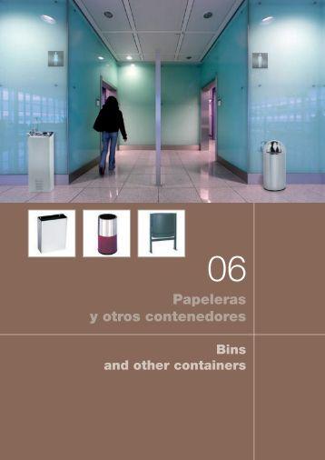 Papeleras y otros contenedores - Nofer