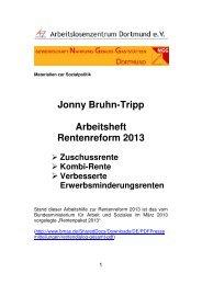 Kombi-Rente - Arbeitslosenzentrum Dortmund ev