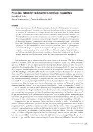 Presencia de Roberto Arlt en el incipitde la narrativa de ... - Congreso
