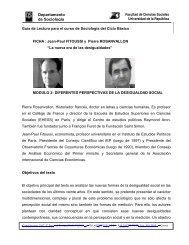 Jean Paul Fitoussi - Pierre Rosanvallon - Facultad de Ciencias ...
