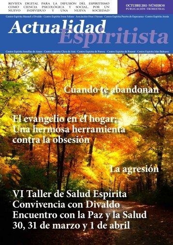 Revista Actualidad Espiritista - CEIS - Centro Espírita Irene Solans ...