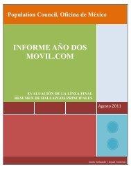 Movil.com - Population Council