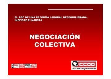 conceptos básicos de una reforma laboral desequilibrada, ineficaz e ...