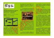 Tríptico Conciertos pedagógicos - PerKu-Va
